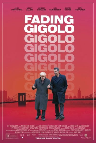 Poster Of English Movie Fading Gigolo (2013) Free Download Full New Hollywood Movie Watch Online At Alldownloads4u.Com