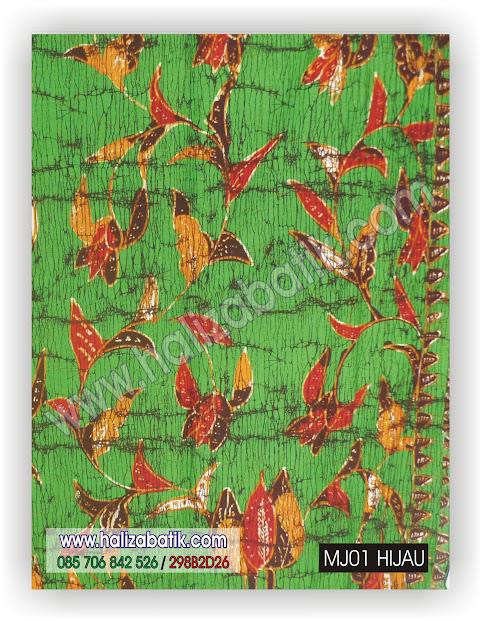 Kain Batik Murah, Batik Modern, Busana Batik Modern, MJ01 Hijau