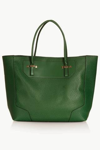 Saffiano Tote Bag - Topshop - £36