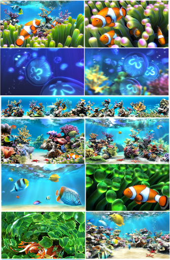 sim aquarium 3 screensavers 3d