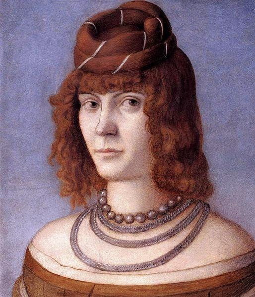 Vittore Carpaccio - Portrait of a Woman