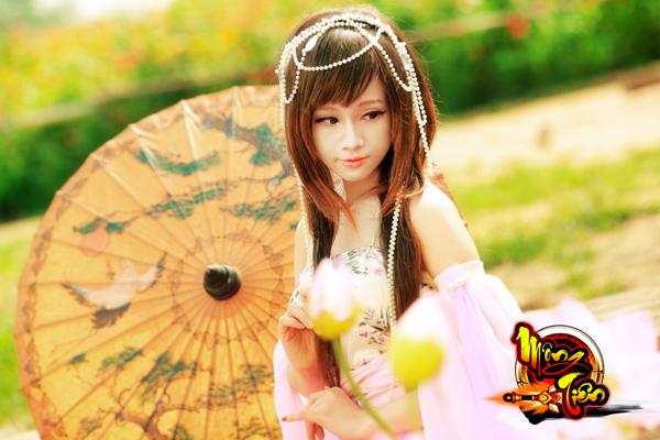 Chibi Bunny tung cosplay Mộng Tiên tuyệt đẹp 11