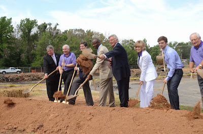 University of Central Arkansas HPER Center Expansion Groundbreaking Ceremony