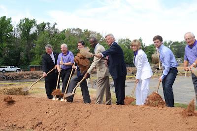 University of Central Arkansas HPER Center Expansion Groundbreaking Ceremony