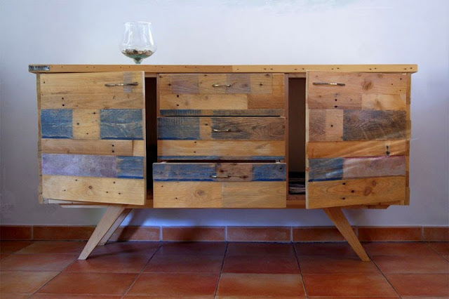 exceptional table en palette de bois 10 buffet en