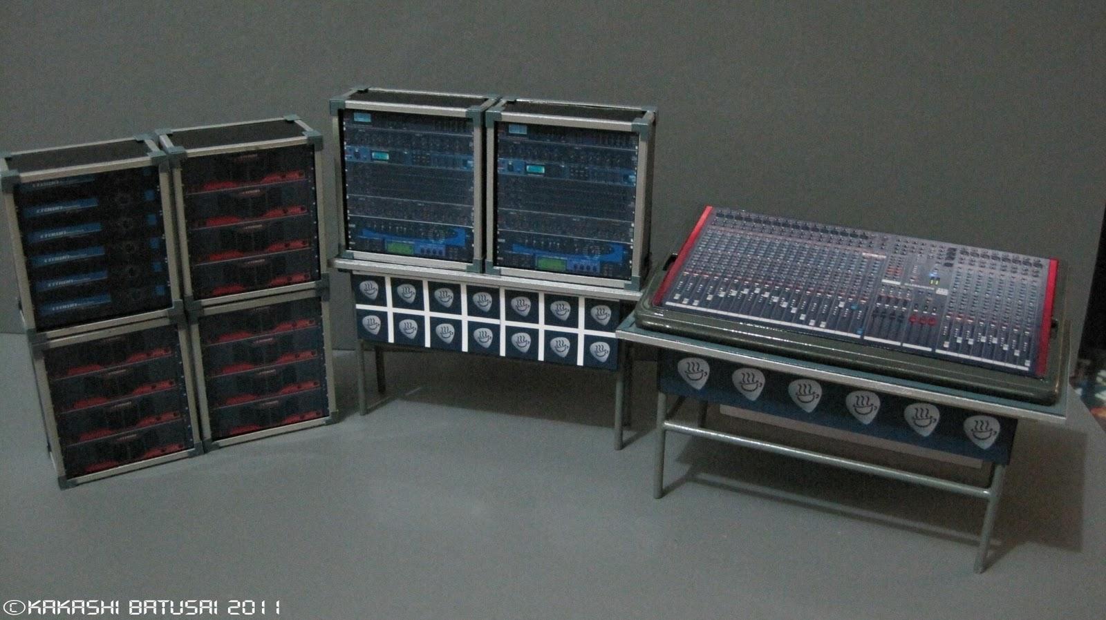 a creative mind project k on concert stage diorama part xvii. Black Bedroom Furniture Sets. Home Design Ideas