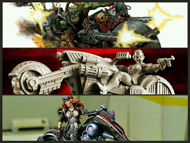Motos en los Wargames