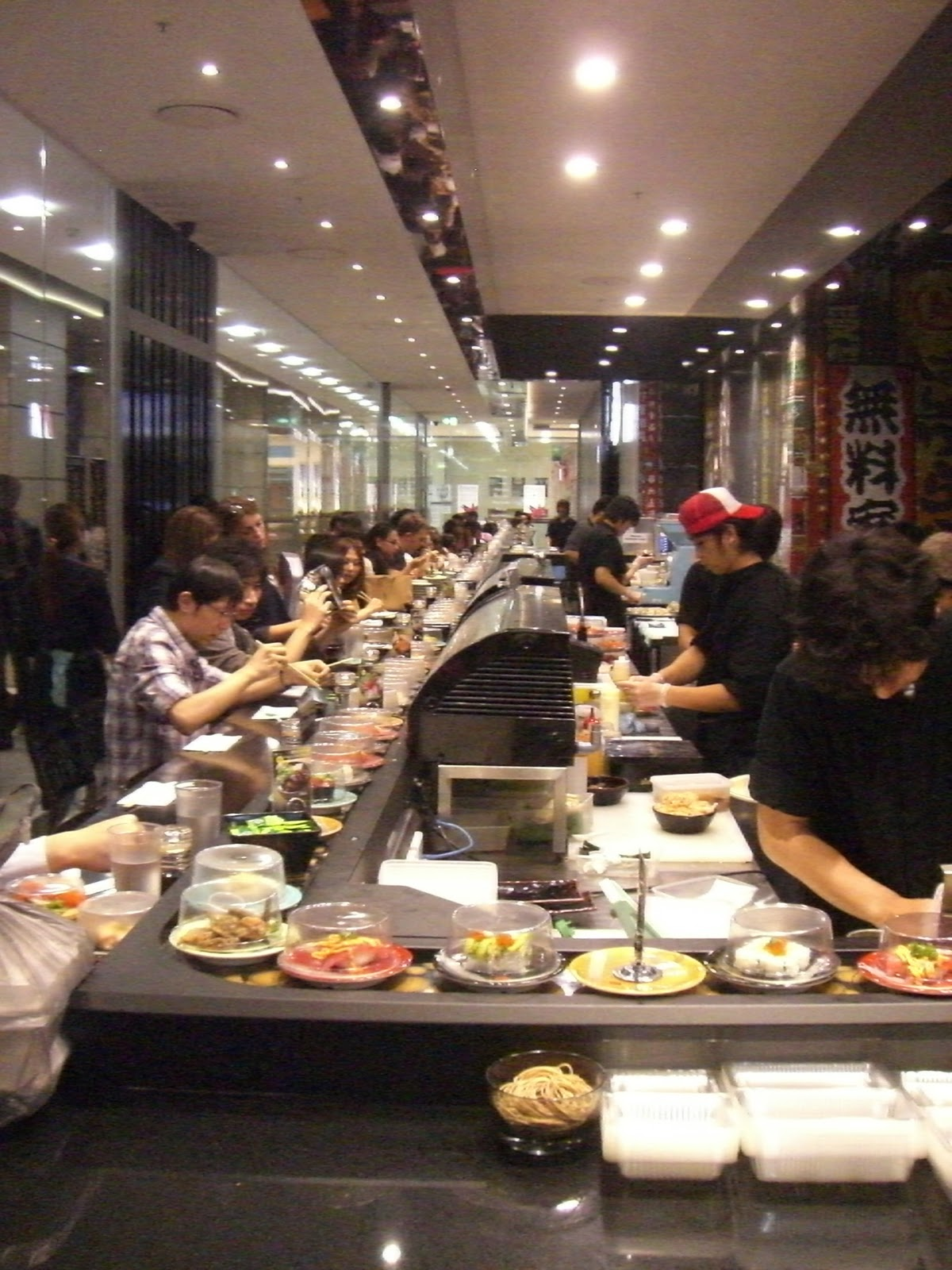 Sushi train adelaide city