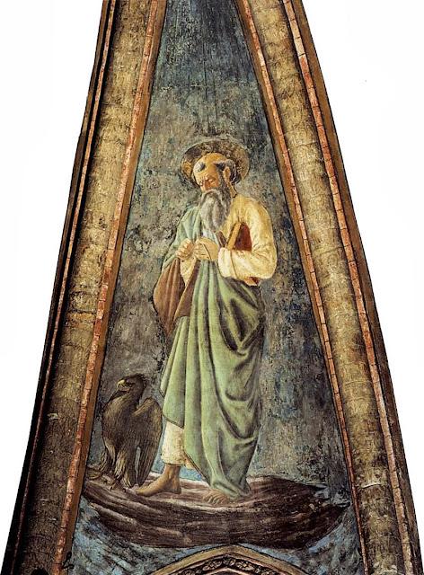 Andrea del Castagno - John the evangelist.