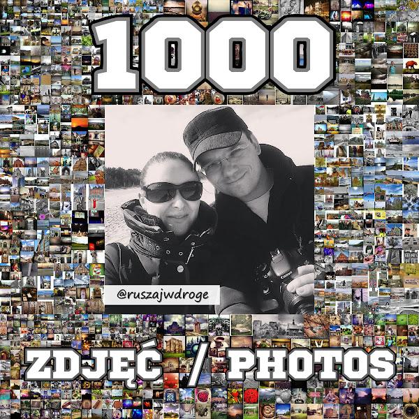 1000 zdjęć na Instagramie Ruszaj w Drogę
