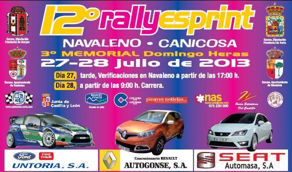 XII Rallye-Sprint Navaleno - Canicosa 2013