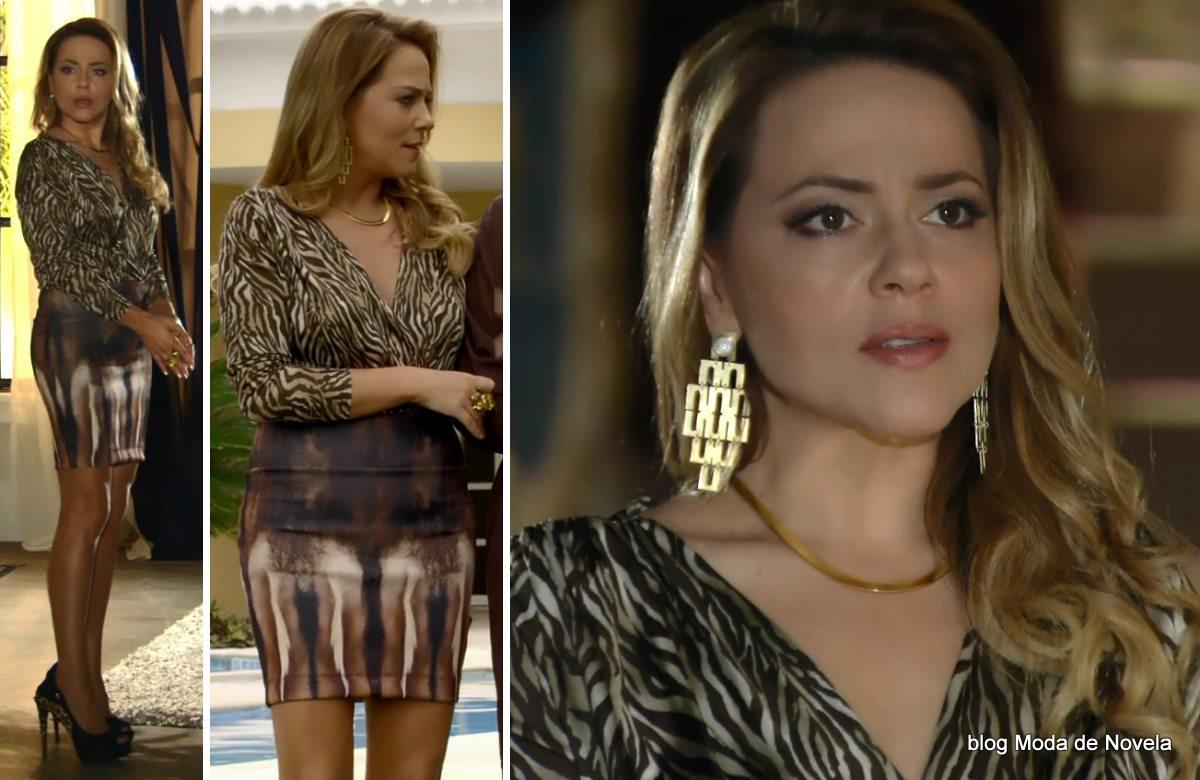 moda da novela Em Família - look da Shirley dia 30 de junho