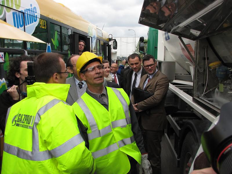 Układ zasilania LNG wzbudził ogromne zainteresowanie przybyłych gości