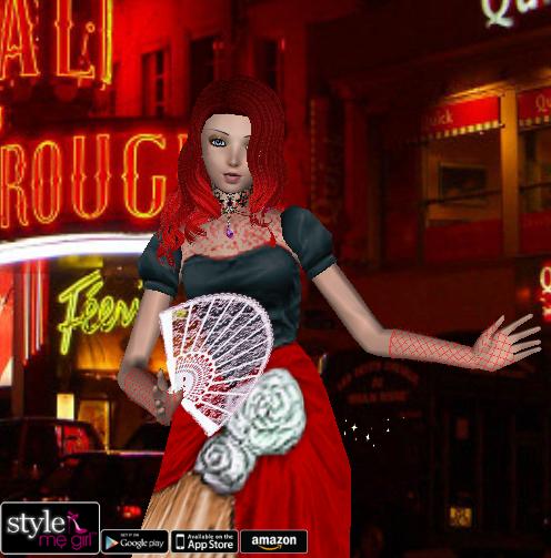 style me girl level 54 lina moulin rouge i style me girl