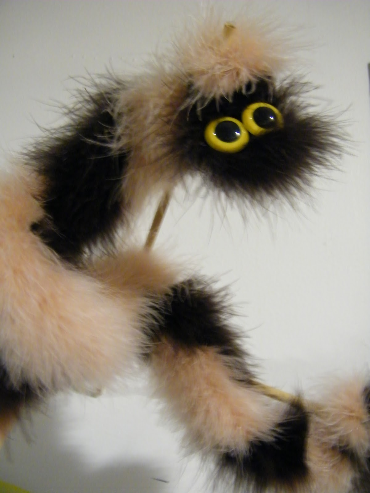 puppet a day day 48 fuzzy wuzzy caterpillar