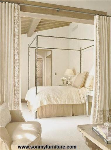 Thiết kế phòng ngủ kiểu Âu cho mùa thu đông ấm áp-10