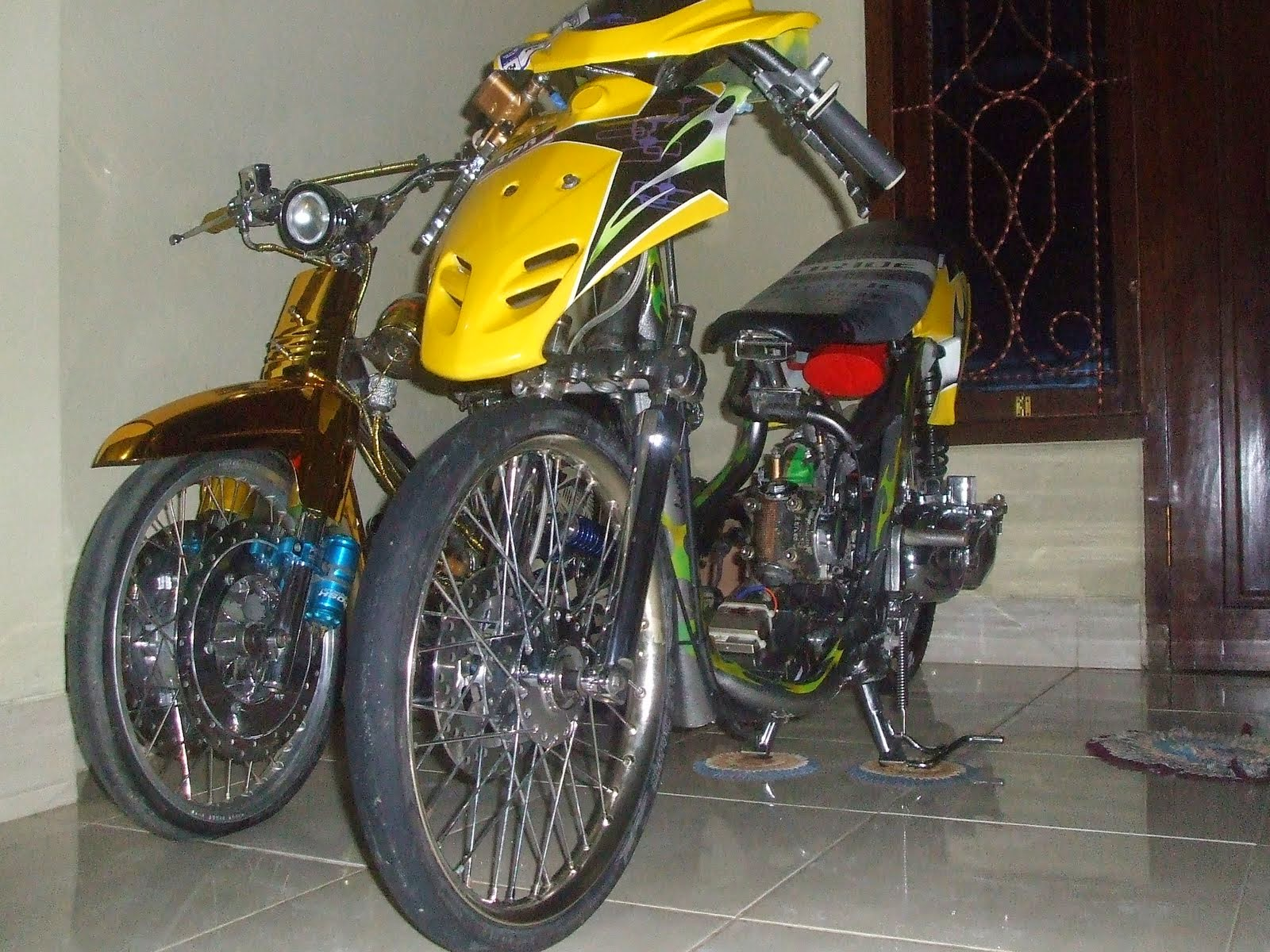 Vario Techno Modifikasi Racing