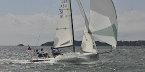 J/70 sailing fast- one-design sailboat class in Newport