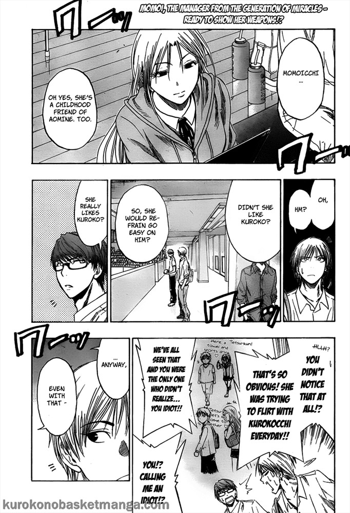 Kuroko no Basket Manga Chapter 44 - Image 01