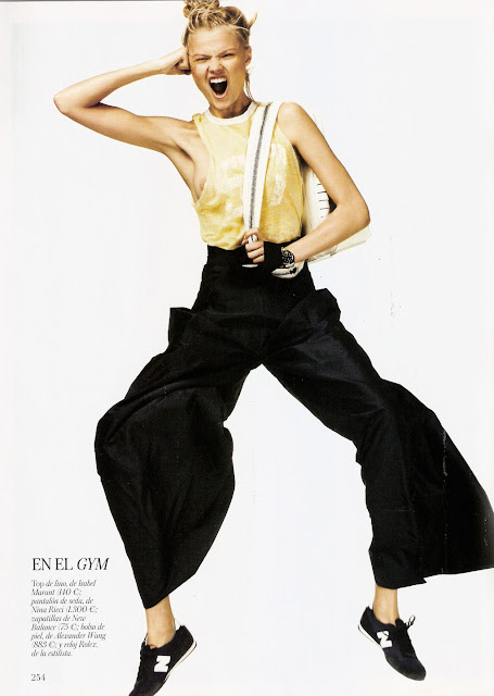 Magdalena Frackowiak -Vogue España-March 2012