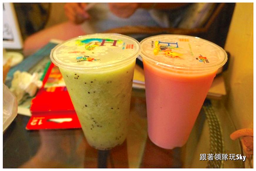 花蓮美食推薦 -東大門夜市必喝【妙不可言果汁吧】
