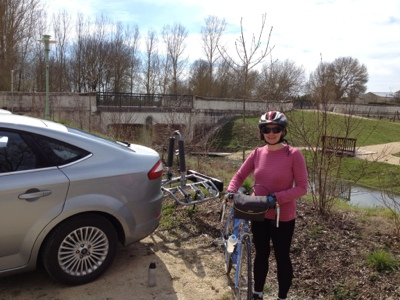 French village diaries cycling St Fraigne Charente