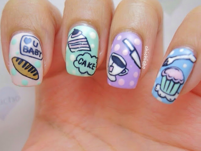 High Tea Nail Art with Qgirl 020 Image Plate