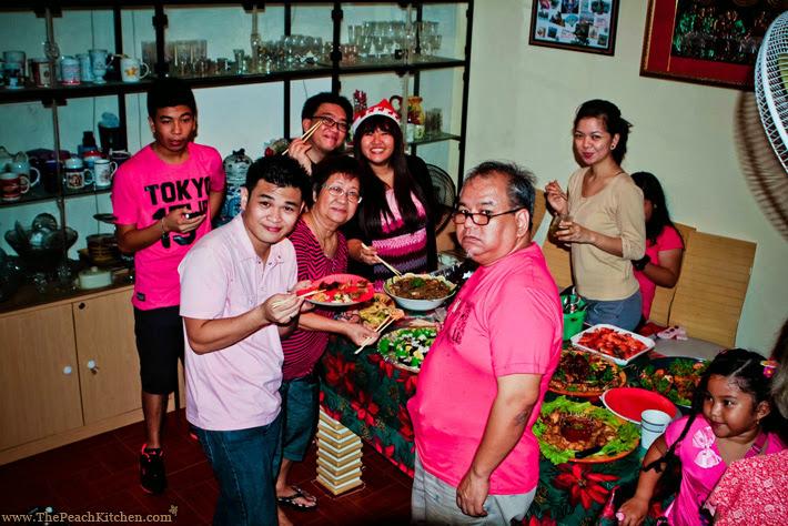 Christmas Day 2013 | www.thepeachkitchen.com