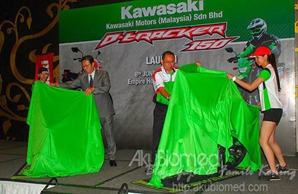 Pelancaran Kawasaki D-Tracker 150