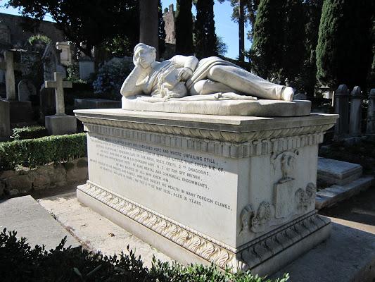 The Protestant Cemetery of Rome, Via Caio Cestio, 6, 00153 Roma, Italy