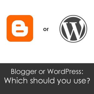 Blogger atau Wordpress Yang Harus Anda Gunakan?