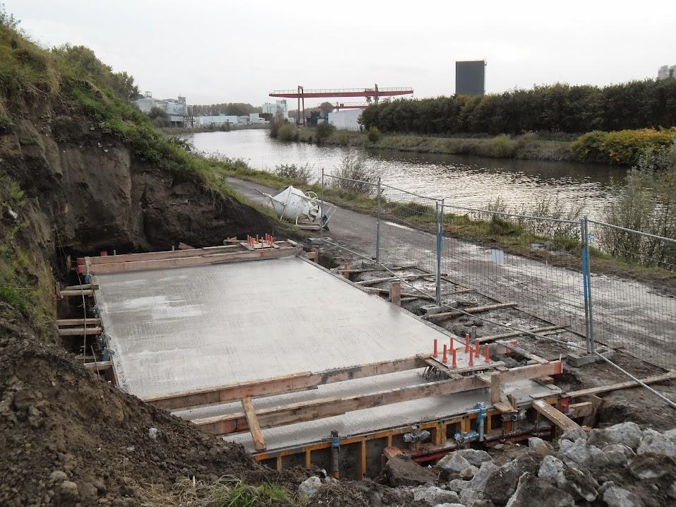 L085 Avelgem - Spiere (Trimaarzate) pour discuter des travaux de renouvellement (L85) Guldensporenpad%2B092