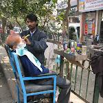 Barbier du vieux Delhi