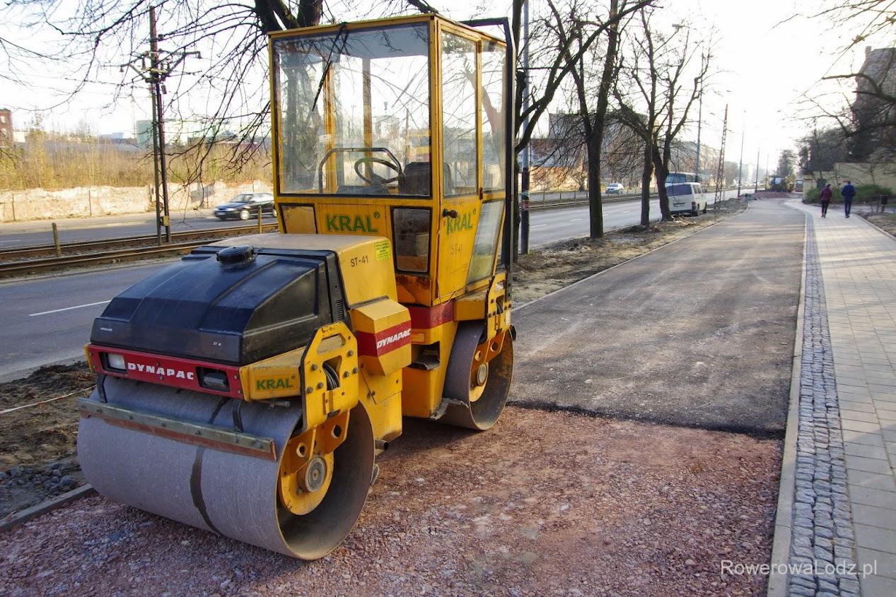 Tylko jedna warstwa asfaltu. Czy to wystarczy?
