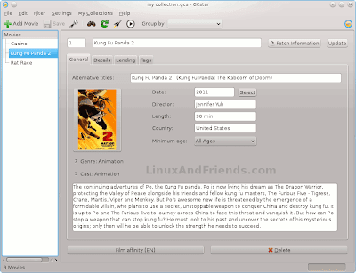 Collections manager software