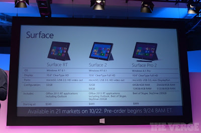 Surface Pro2/Surface2