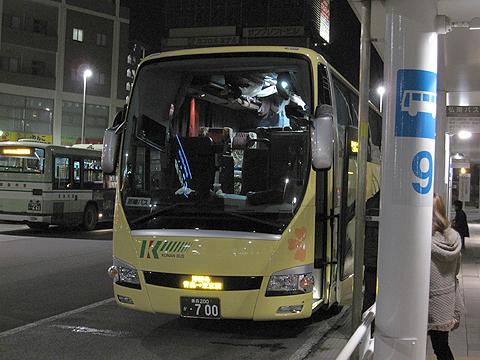 弘南バス「津輕号」 700 青森駅改札中