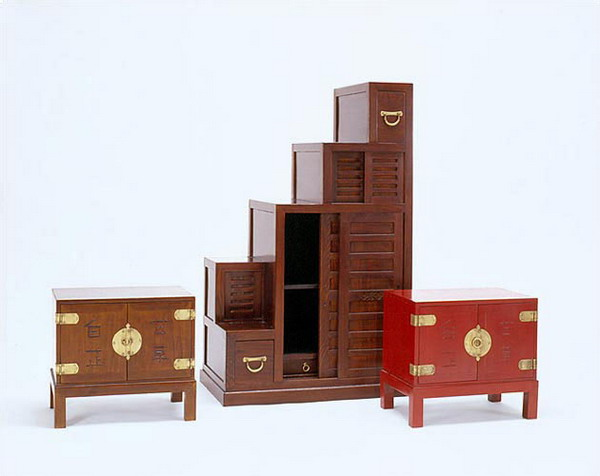 wooden small step furniture