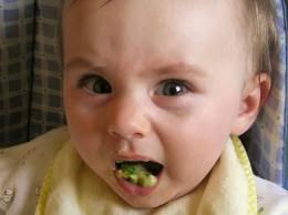 componente afectivo de la percepción, aversión a las verduras