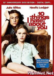 Phim 10 Điều Em Ghét Anh Full Hd - 10 Things I Hate About You