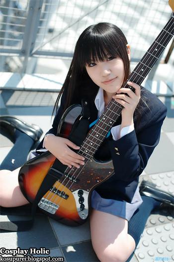 k-on! cosplay - akiyama mio 4 by minatsuki naru