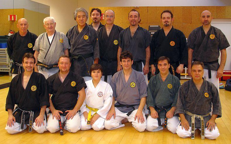 Gym Okinawa Bish con Sensei Kenyu Chinen