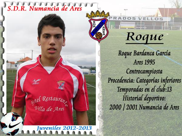 ADR Numancia de Ares. Roque.