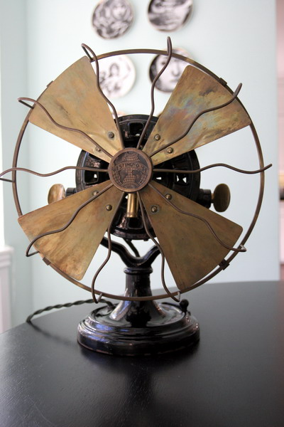 History About The Electric Fan : Westinghouse electric fan history great installation of