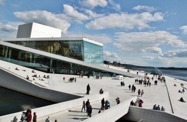 Techo de la Ópera de Oslo, Noruega