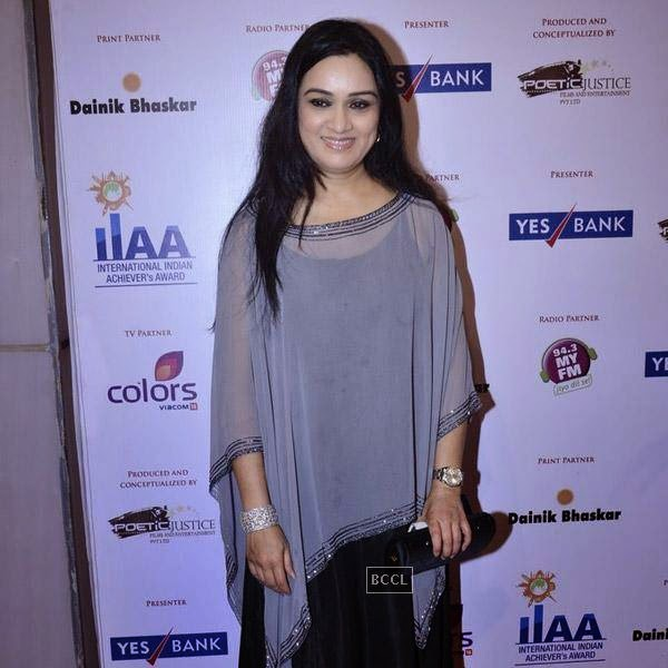 Padmini Kolhapure at the International Indian Achievers Awards event, held at Filmcity in Mumbai. (Pic: Viral Bhayani)