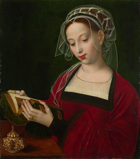 Ambrosius Benson - The Magdalen Reading, 1535.