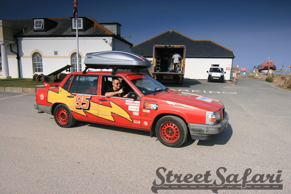 Lightning McQueen Volvo Rally Art Car Central