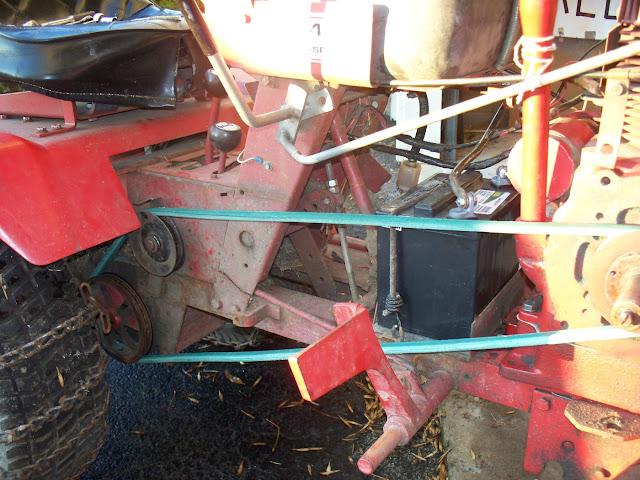 C 120 Clutch Won T Stop Drive Belt Wheel Horse Tractors