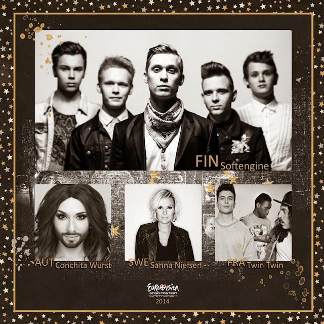 Euroviisujen TOP4-listani